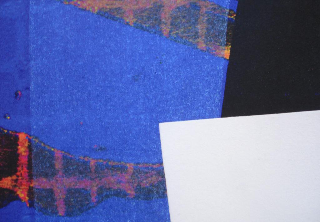 Bleu red, 40 x 58 print on paper 2015