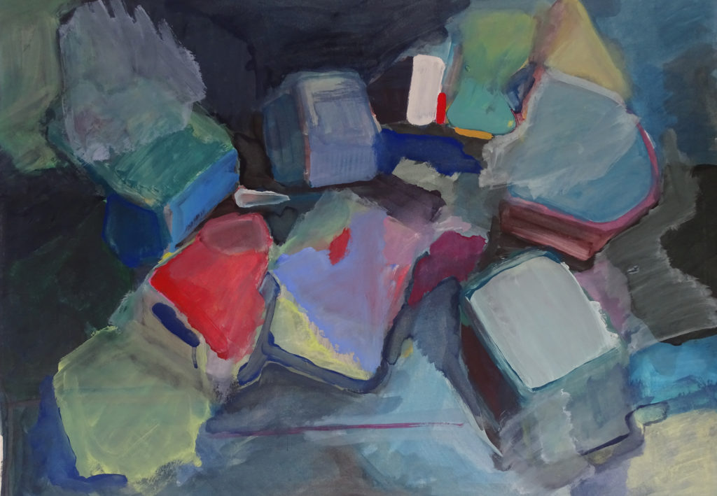 Gouache on paper 5, 50 x 70