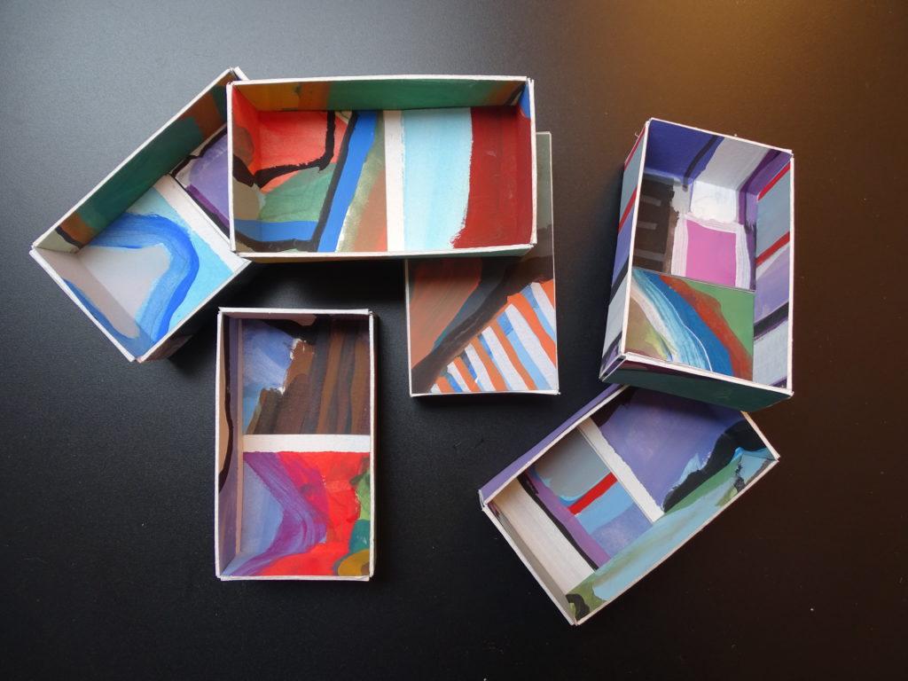 Boxes 2 10 x 6 x 2,5 papier-goauche 2016